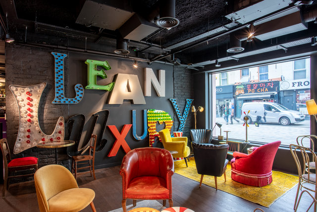 find a co-working space in Ruby Lucy Hotel, London